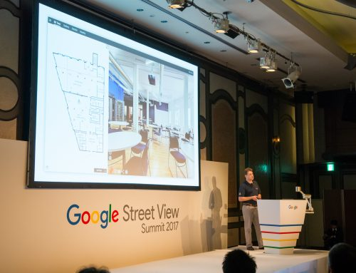 iGUIDE® at the Google Street View Summit 2017 in Tokyo, Japan.