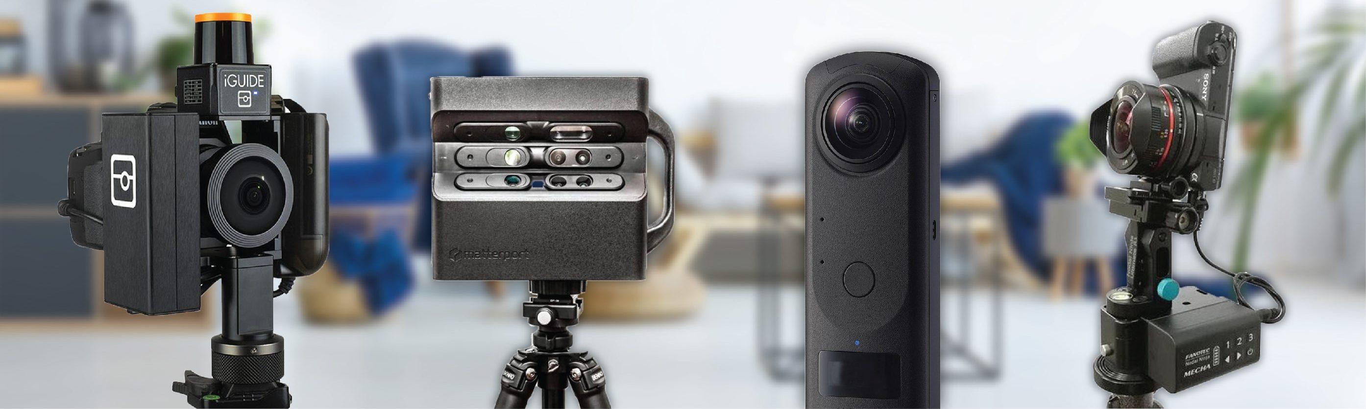 3d virtual tour camera technology comparison