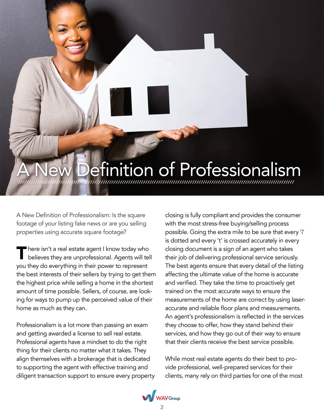inaccurate square footage can tear down a real estate agents reputation