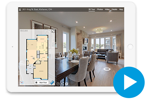 iGUIDE 3D Tour with Floor Plans