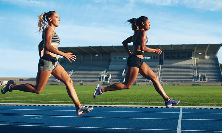 running to keep ahead