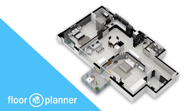 floorplanner 3d model