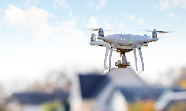 proptect real estate agent drones