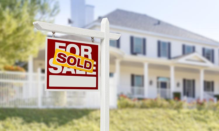 Real Estate listing sold